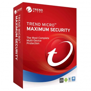 Trend Micro Maximum Security 5 Device Multi Device