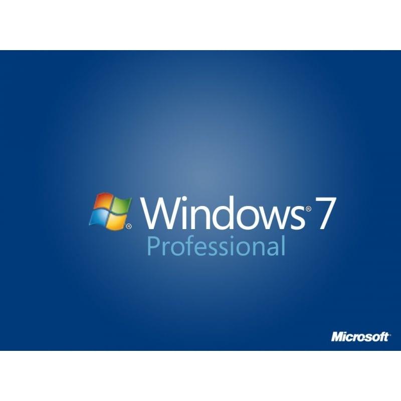 Microsoft Windows 7 Professional 32/64-bit