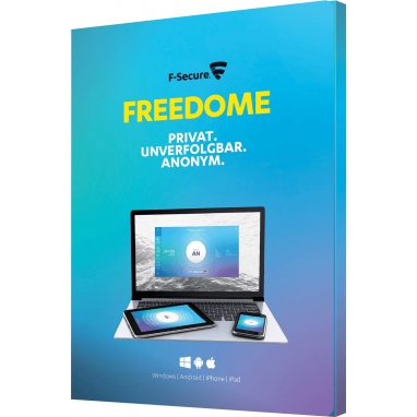 F-Secure Freedome VPN 2019 5 PC Geräte 1 JAHR