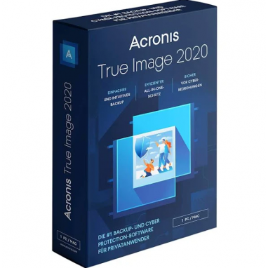 Acronis True Image 2019 Backup Software ( + 2020 Upgrade) - 1 PC